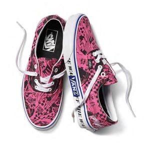 HP 🎉Vans Era Lady Vans Azalea Pink & White Skate